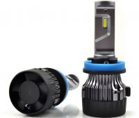 Wholesale Car LED headlight bulb with CREE COB PHILIPS chips for H1 H3 H4 H7 H9 H10 H11 H13 H15 H16 9004 9005 9006 9007 880 881