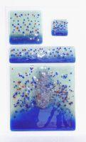 100% handmade decorative glass tiles