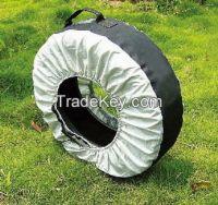 Spare Wheel Tire Tote Bag