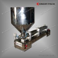 Single Head Piston Filler for Viscous Liquids