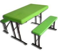 3 in 1 table and bench set