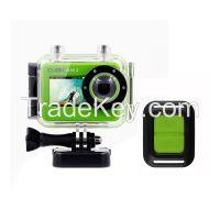 1080P 14MP HD Action Camera, Built-in Wi-Fi, 50 Meters Waterproof
