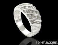 925 sterling silver cz ring(WSRDG03864)