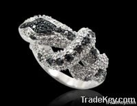 Fashion sterling silver jewelry ring (WSHEZ01420R)