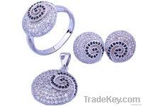 Fashion Sterling Silver Jewelry Set