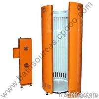 Skin care of tanning machine with sun shower