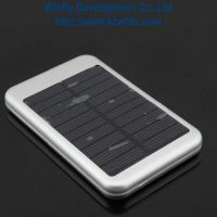 5000mAh Solar Power Chargers for mobile phone and iPad