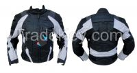 Black/Grey Motorcycle Textile jacket