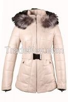 Women textile winter jackets