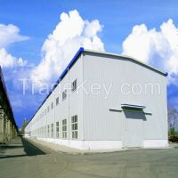 turkish steel construction for warehouse