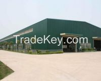 AWS D1.1 welded steel structure warehouse