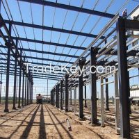 Fabricated steel member for workshop made in china