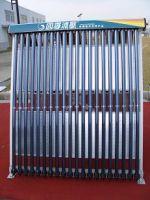Split solar collector U pipe with solar keymark