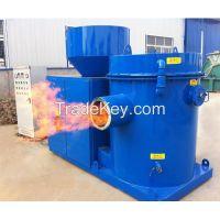 Biomass rice husk power stove / burner