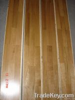 oak walnut multi layer engineered wood flooring(plywood base)