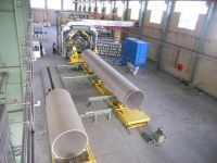 Continuous Filament Winding Machine for GRP Pipes