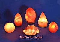 Himalayan rock salt crystal natural lamp