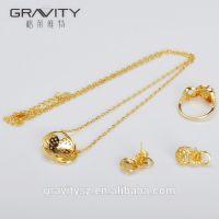 Hot selling imitation saudi dubai imitation jewelry, 24k jewellery sets gold plated