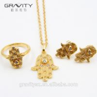 TZXG0037 Popular Luxury Indian/saudi 24k gold Factory Direct Price Wholesale For Ladies Set Jewelry