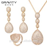 fashion Dubai Gold Body Jewelry Set Factory Direct Price Wholesale For Ladies Set Jewelry