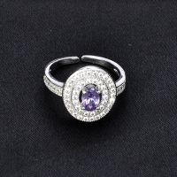 fashionable expensive jewelry wedding contemporary top engagement silver rings for women