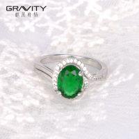 emerald cut custom fashionable diamond emerald cut engagement wedding rings white gold