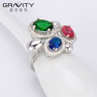 wholesale white gold colorful latest fashionable bridesmaid best diamond right hand finger jewelry rings design for women
