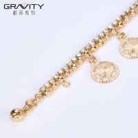 specific custom women gold bracelet jewelry