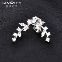 stylish custom women silver earring