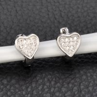 cheap personal handcrafted custom costume silver hoop stud big tanzanite earrings