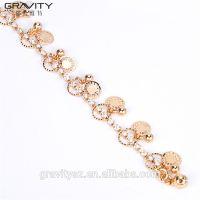 Opening Women Jewelry, Lastest design brass 18K/24K bangles and bracelets