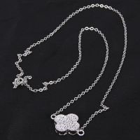 initial sterling silver jewelry chain necklace