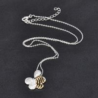 latest design hip hop beads necklace silver women