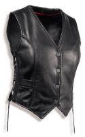 Leather Ladies Fshion Vest NAL-436