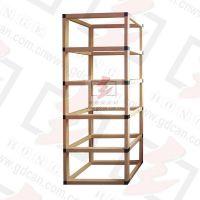 Customized Shelf Display,paper racks for store display