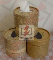 Round Tissue Paper Box
