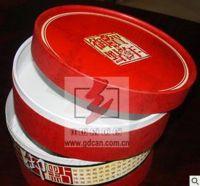 round tea paper box