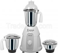 Akshar Brand Mixer Grinder with 3-SS Jars