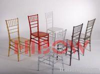 new design resin wedding chair