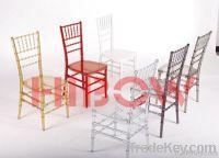 wedding chiavari chair/white chiavari chair/ plastic chiavari chair