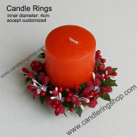 Berry Candle Rings
