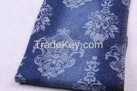jacquard Denim fabric