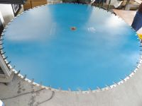 """48"""" Diamond Blades for Solving the Difficulty of Heavily Reinforced Concrete Cuttings"""