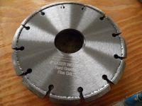 150mm Laser Welded Crack Chasing Diamond Blades