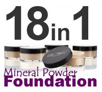 Da Vinci Cosmetics 21 Mineral Loose Powder Foundation Shades 9gms