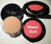 Da Vinci Cosmetics Pressed Blush - 16 colors 100% mineral makeup & USA made