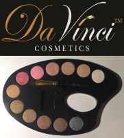 Mineral Eye Shadow Palette - 12 colors from Da Vinci Cosmetics