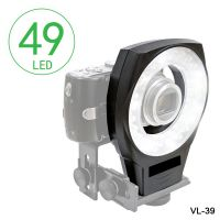Kingbest 49 pcs macro ring light for macro photography vlr-490