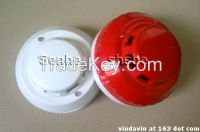 2wired,4wired network Potoelectric smoke detector alarm with realy output