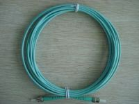 Fiber optic patch cord jumper ST-ST multimode om3 om4 10G duplex